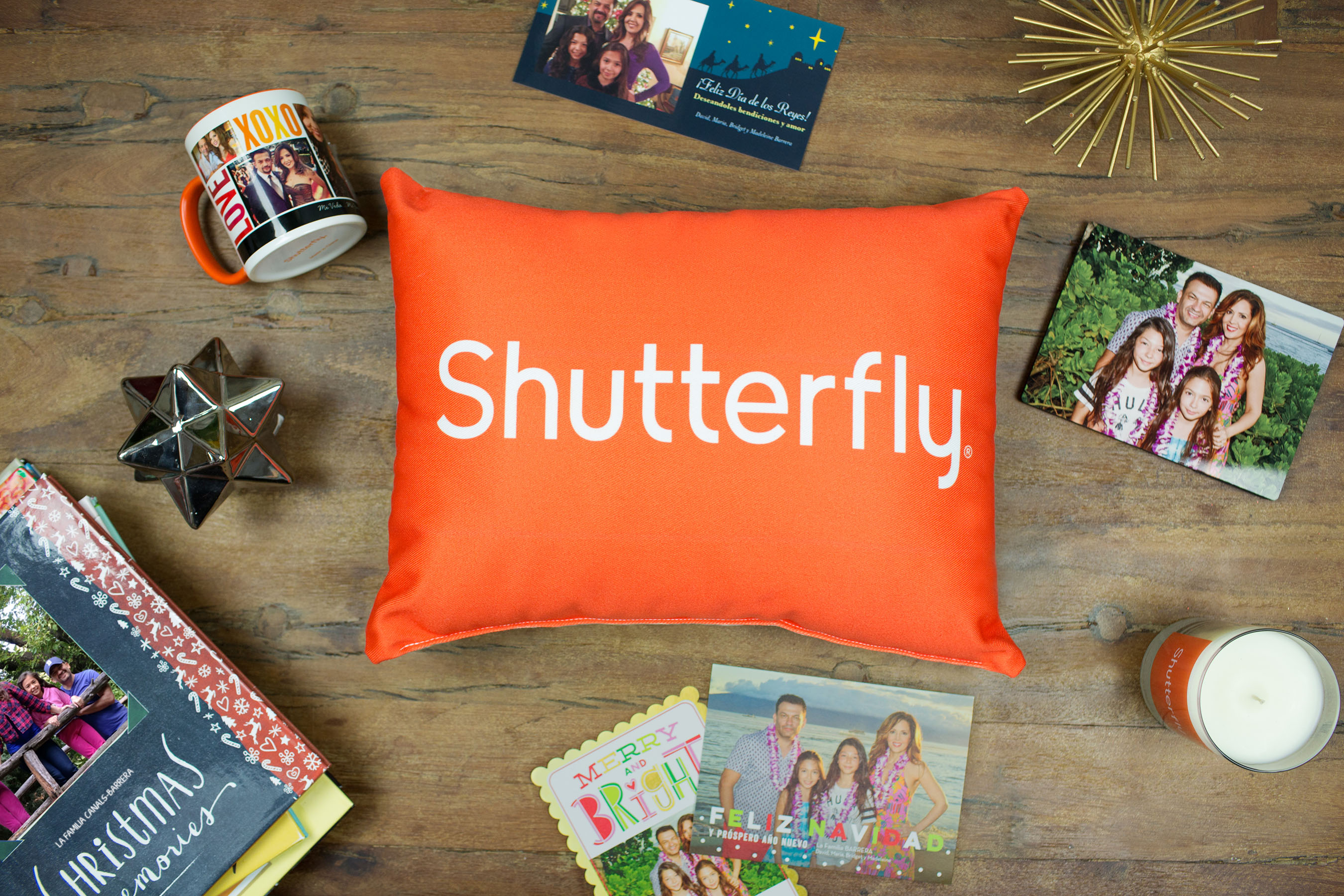 SHUTTERFLY PUTS THE ACCENT ON YOUR CELEBRACIN THIS