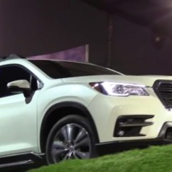 Captain Chairs Suv Ikea Swivel Chair All-new 3-row Subaru Ascent Makes World Debut At Los Angeles Auto Show®