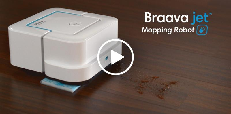 iRobot Grows Consumer Product Lineup with Braava jet