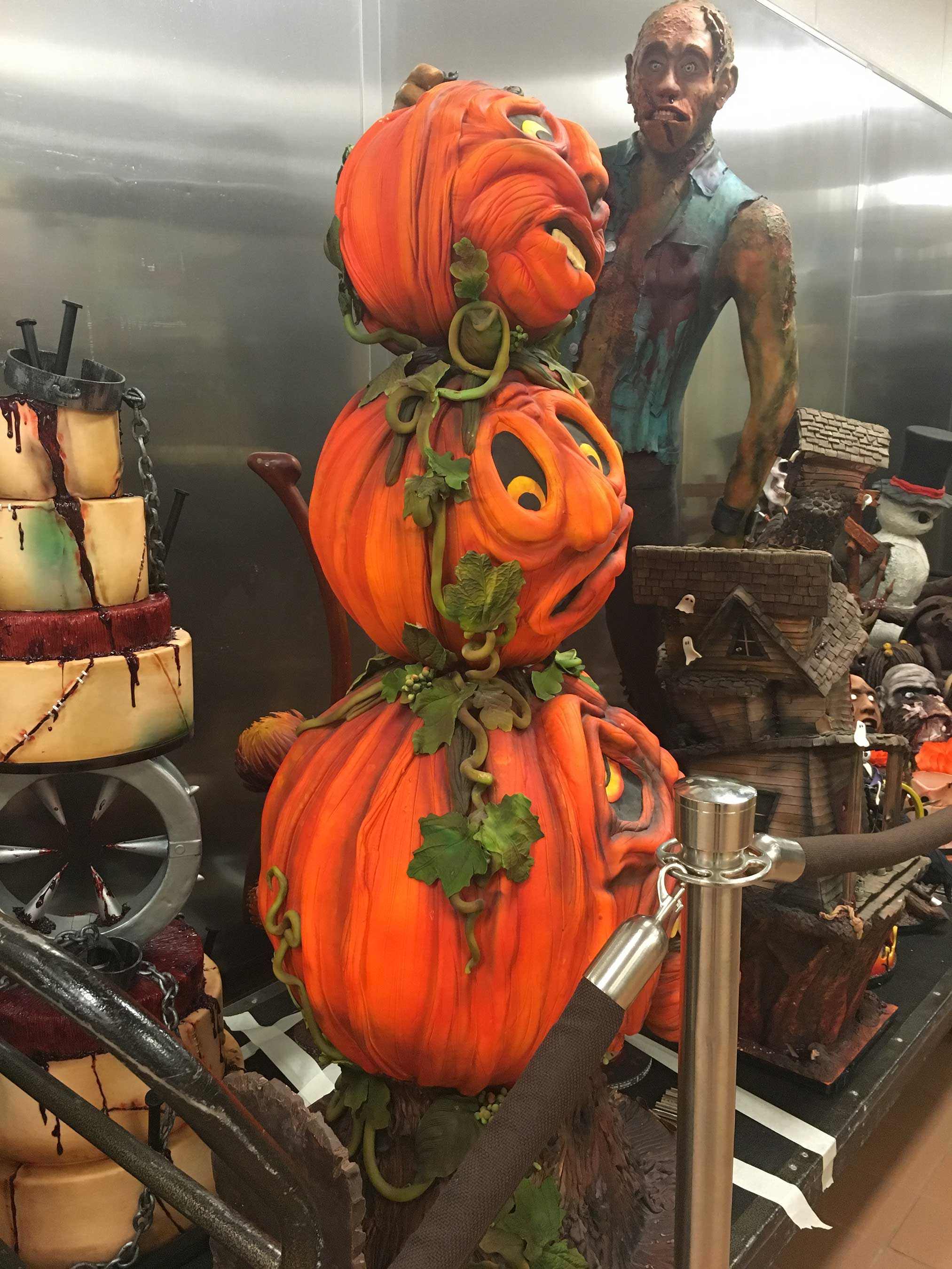 JEAN PHILIPPE PTISSERIE DISPLAYS FRIGHTENINGLY DELICIOUS SHOWPIECES AT BELLAGIO AND ARIA