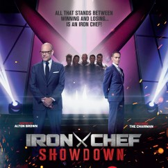 The Chairman Iron Chef Stretch Dining Chair Covers Nz Chefs Return To Legendary Kitchen Stadium For