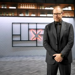 The Chairman Iron Chef Upholstered Vintage Chairs Chefs Dominate On Food Network This Spring