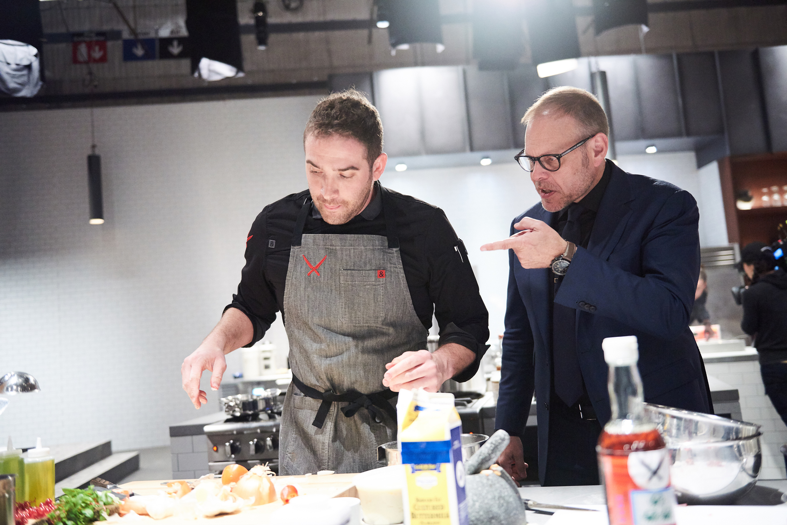 the chairman iron chef plush bean bag chair chefs dominate on food network this spring