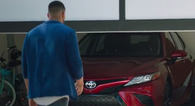 all new camry commercial interior yaris trd 2018 toyota ignites the senses strut illuminates emotional thrill while featuring s jaw dropping
