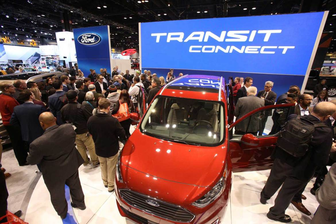 FORD TRANSIT CONNECT WAGON AT 2018 CHICAGO AUTO SHOW
