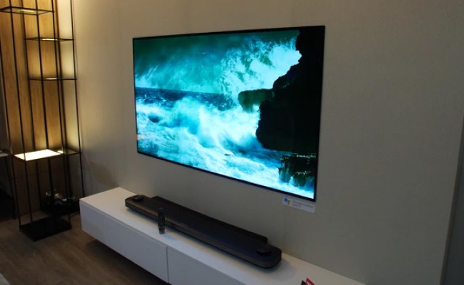 Lg Oled W8 Slim Wallpaper 65 Inches 4k Tv Kara Nigeria