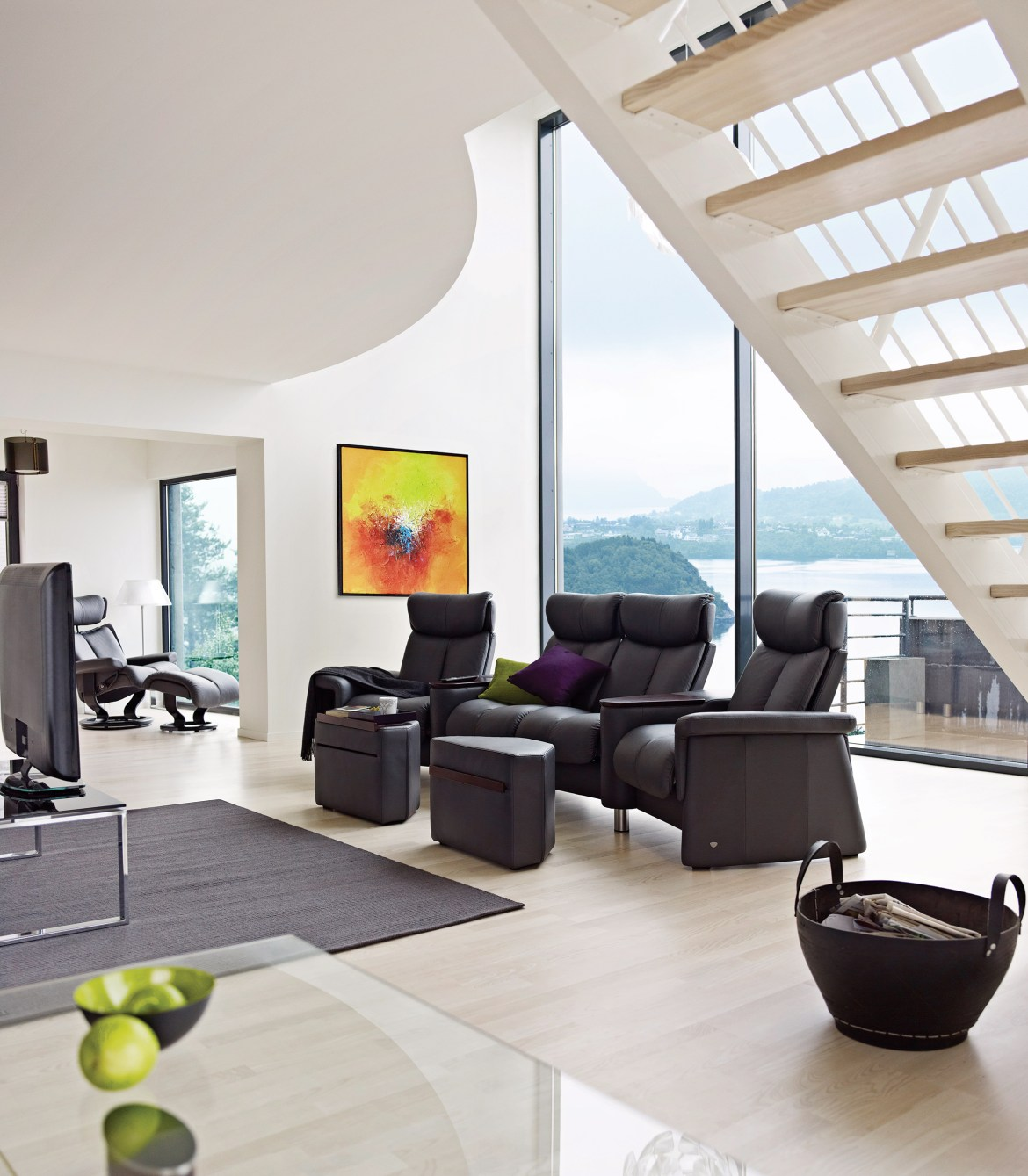 Stressless Combines High Tech Manufacturing With High Touch Design For Smart Home Chic
