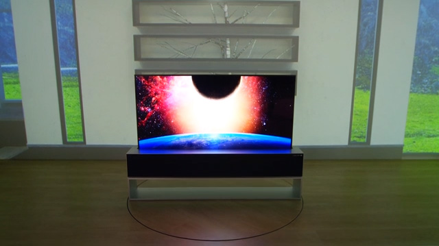 LG SIGNATURE OLED TV R (model 65R9)