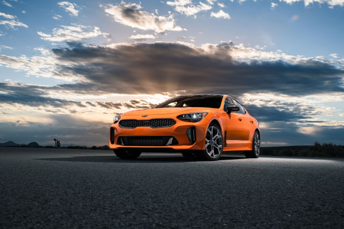 Limited-edition Kia Stinger GTS breaks cover at the New York International Auto Show. Less than 1,000 will be built.