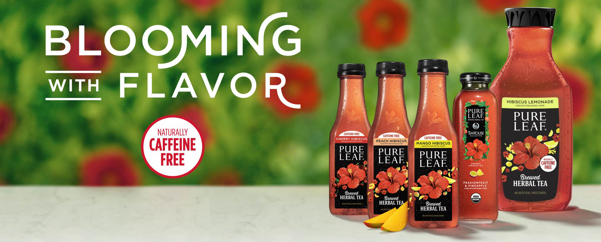 No Shadow Here Spring Arrives Early as Pure Leaf Releases New Herbal Iced Teas