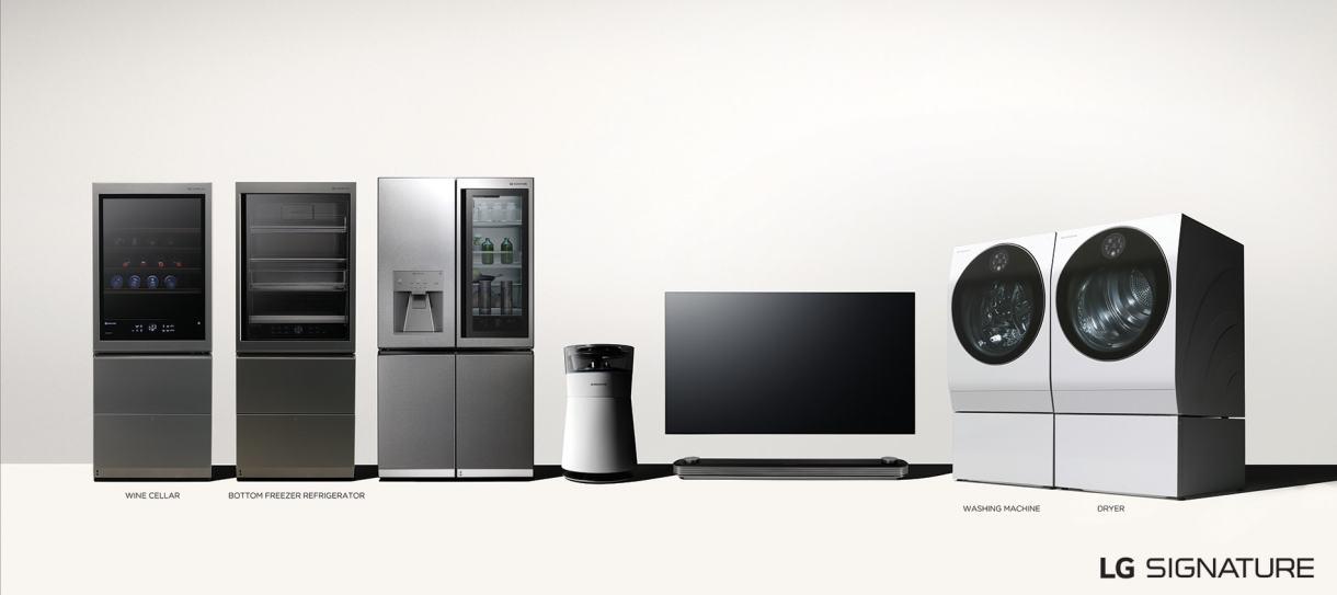 LG SIGNATURE premium lineup