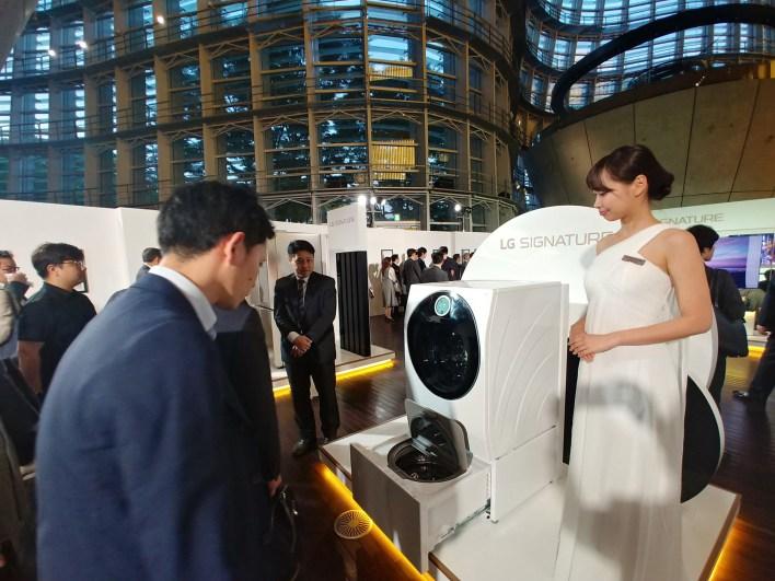 LG SIGNATURE launch event in Japan