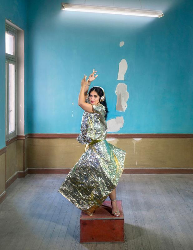 Chrysalis: Mahboubeh (2018), by Olga Stefatou
