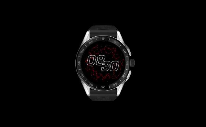 The new TAG Heuer Connected with Orbital Red Watchface