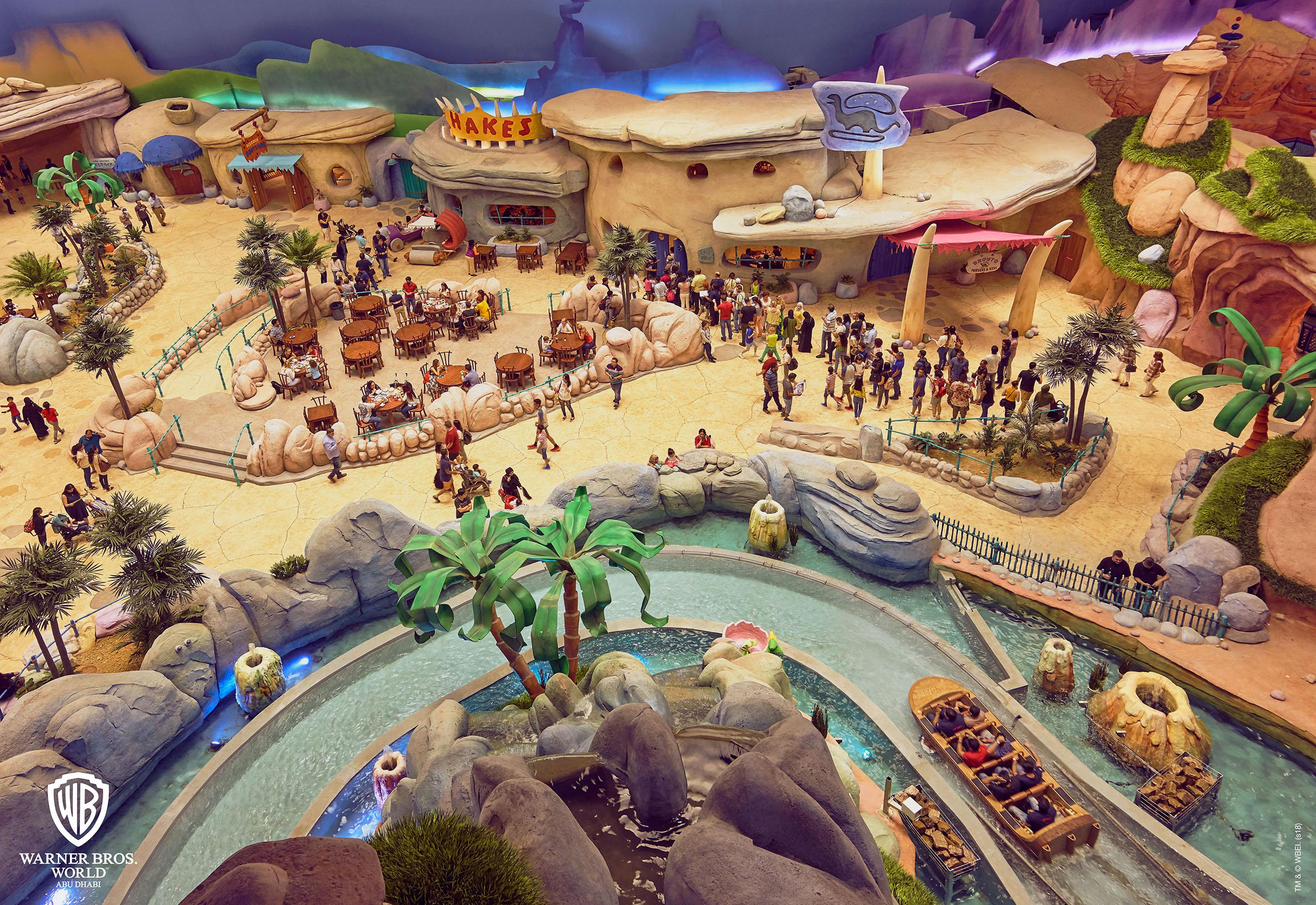 Sheikh Mohammed bin Rashid and Sheikh Mohammed bin Zayed Inaugurate Warner Bros