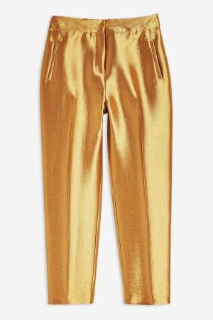 Satin Clean Peg Trousers