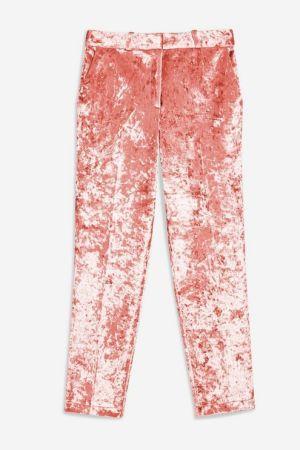 Pink Velvet Trousers