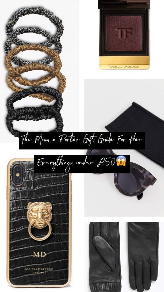 christmas gift guide for her under £50