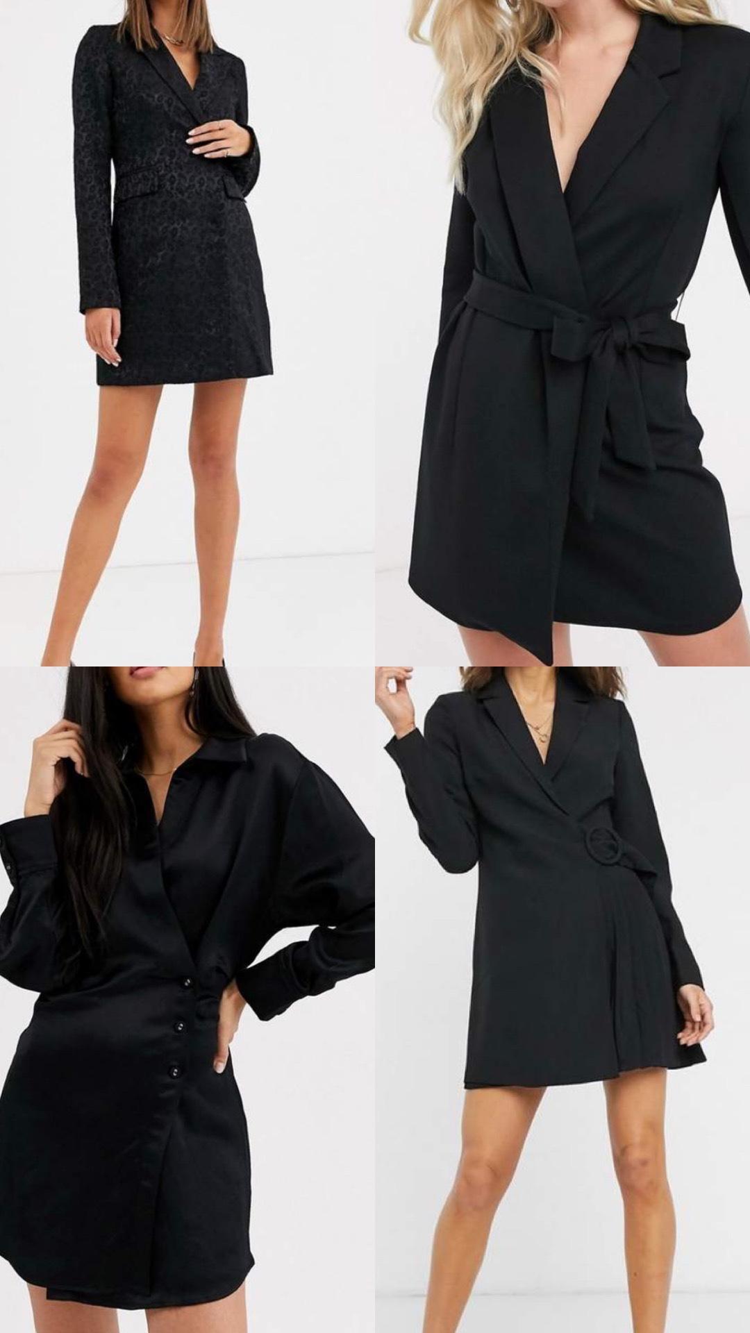 Blazer dresses on ASOS