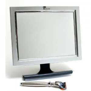 Deluxe LED Fogless Mirror by ToiletTree