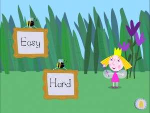 Ben and Holly app - Easy or Hard