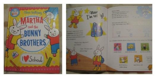 Martha and the Bunny Brothers by Clara Vulliamy
