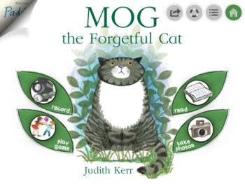 Mog app from HarperCollins