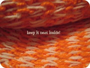 Keep it neat!