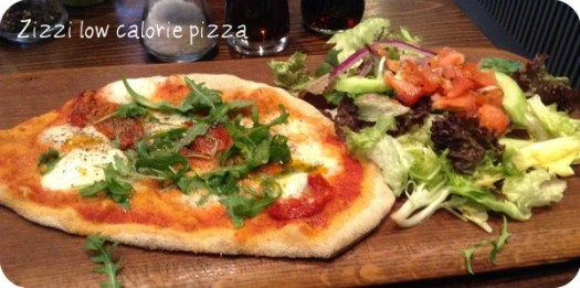 Zizzi Low Calorie Pizza