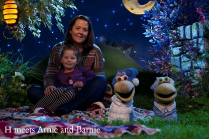 H and I meet Arnie and Barnie