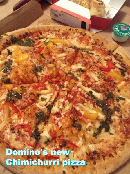 Domino's Chimichurri Pizza