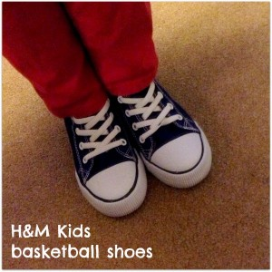 H&M Kids Basketball shoes