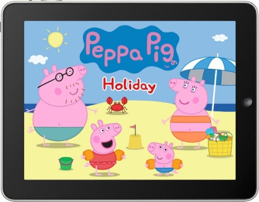 Peppa Pig's Holiday ipad