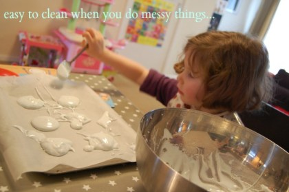 Messy Me Oilcloth