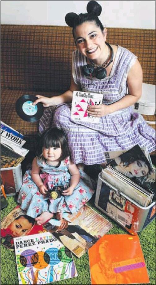 DJ Monski Mouse & daughter Monalisa