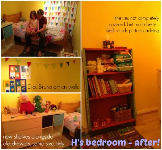 H's room almost finished