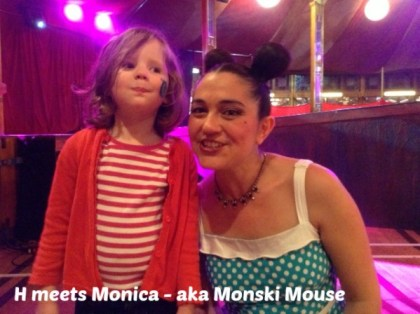H meets Monski Mouse