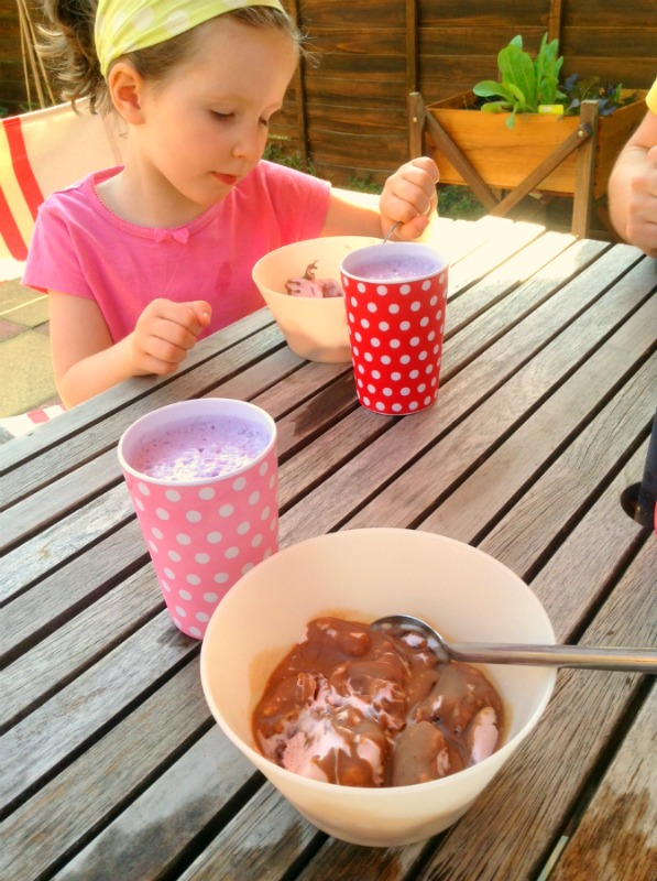 Home Made Ice Cream and Home Made Ice Magic