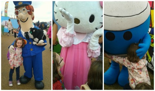 H meets characters at Lollibop 2013