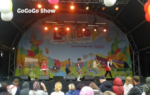 GoGoGo Show at Lollibop 2013