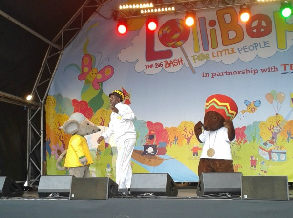Rastamouse at Lollibop 2013