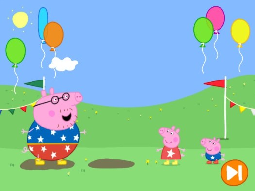 Daddy Pig's Puddle Jump