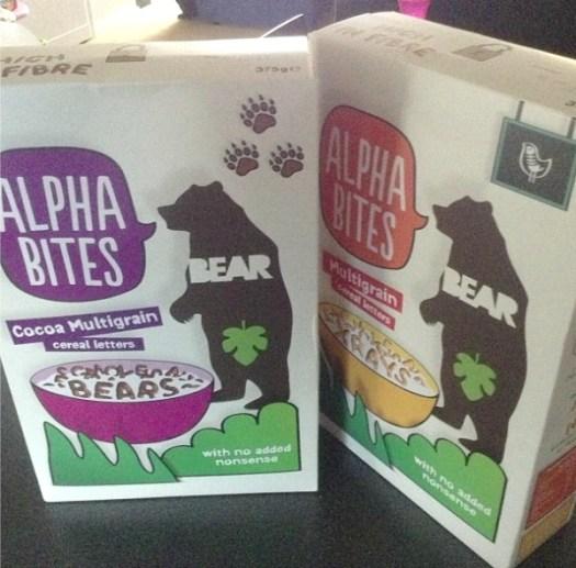 alphabites from bear