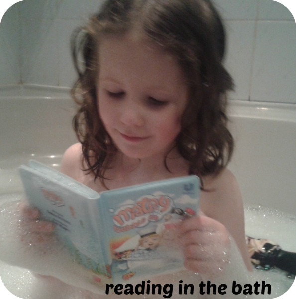 Matey reading