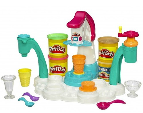 playdoh ice cream parlour