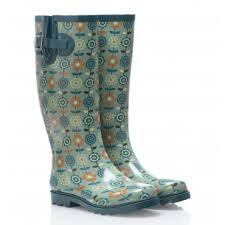 Cancer Research retro wellies