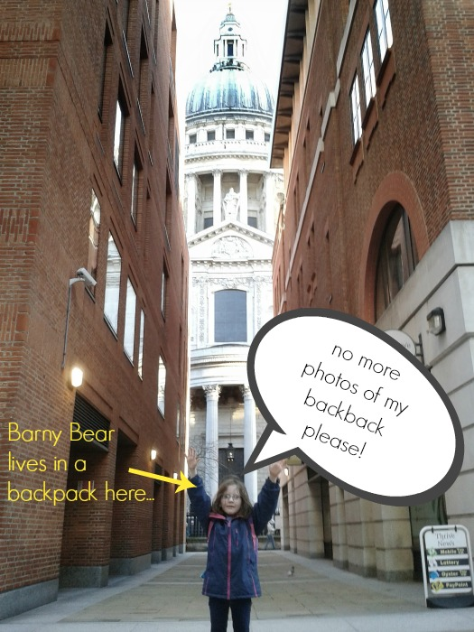 Barny Bear returns