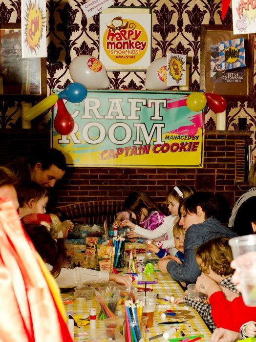 Big Fish Little Fish Craft Room