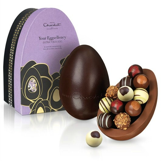 Your Eggselency Hotel Chocolat