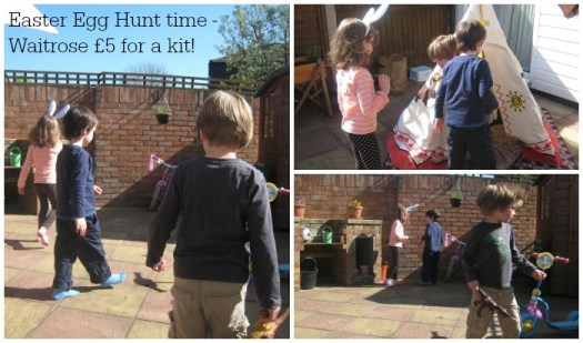Waitrose Easter Egg Hunt